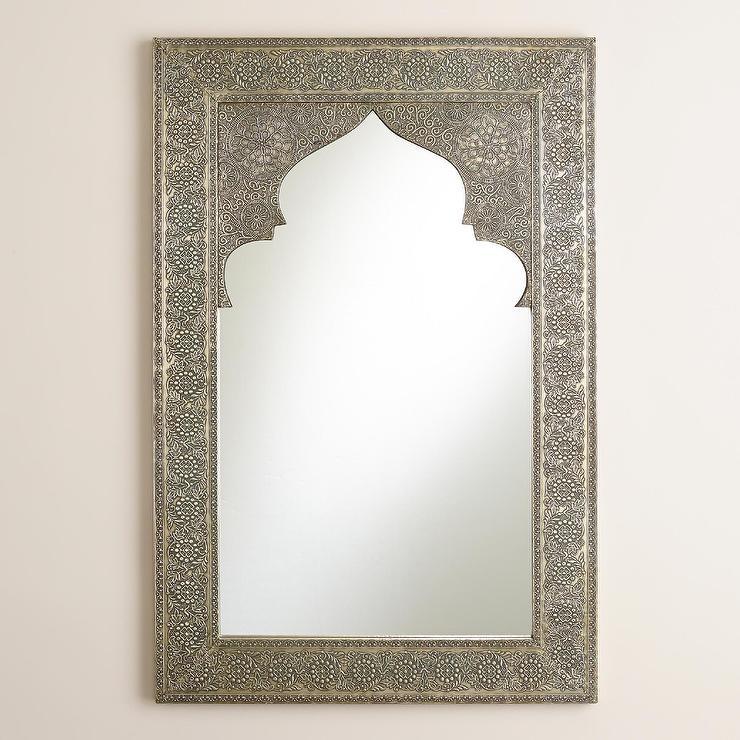Sana Mehrab Silver Mirror