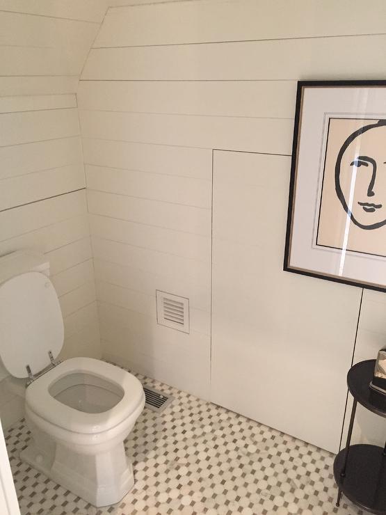 Delicieux Bathroom With Hidden Water Closet