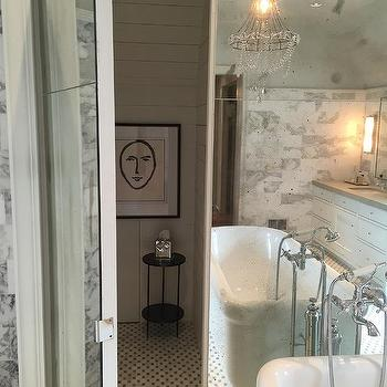 Bathroom With Hidden Toilet