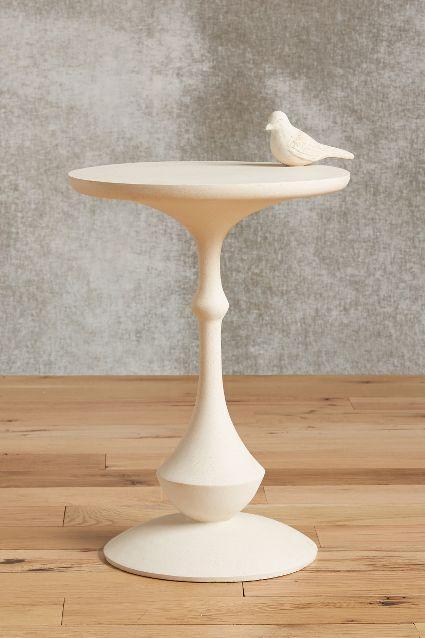 Incredible Alight White Garden Table Inzonedesignstudio Interior Chair Design Inzonedesignstudiocom