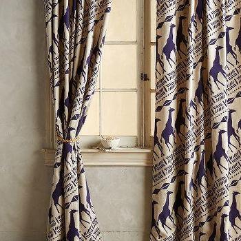 Giraffe Curtains