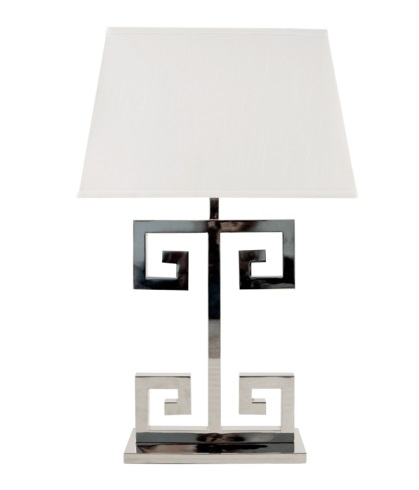 Worlds Away Clayton Greek Key Lamp Look for Less