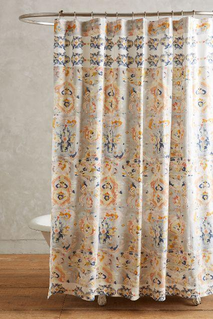 Exceptional Orissa Multicolor Shower Curtain