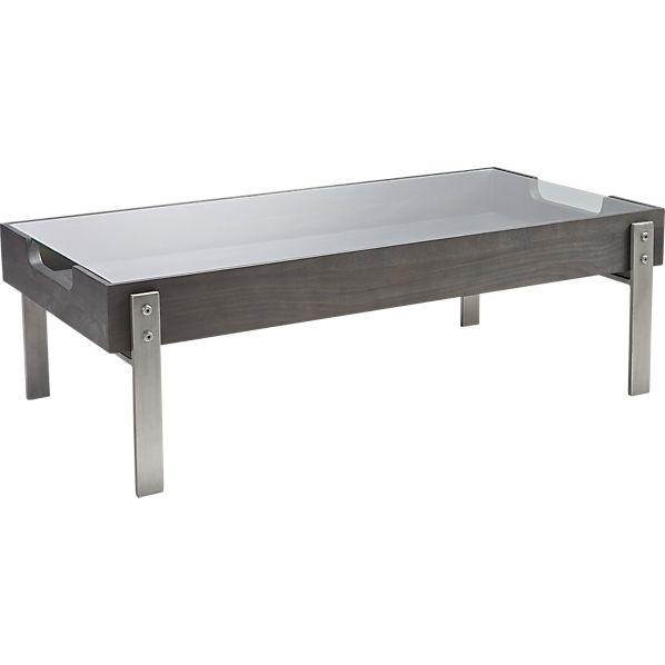 Display charcoal coffee table for Charcoal coffee table
