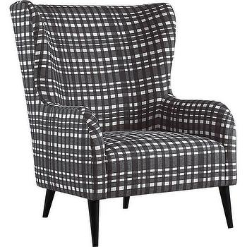 Plaid Suitor Chair