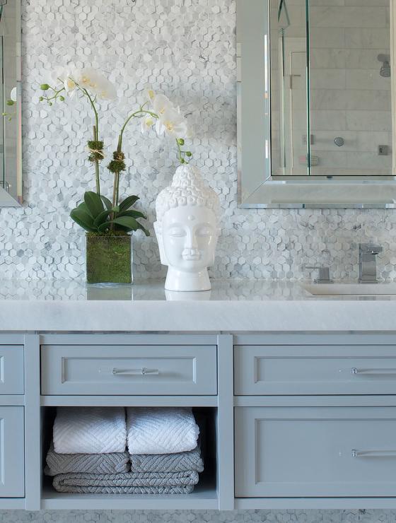 pics photos marble tile bathroom backsplash