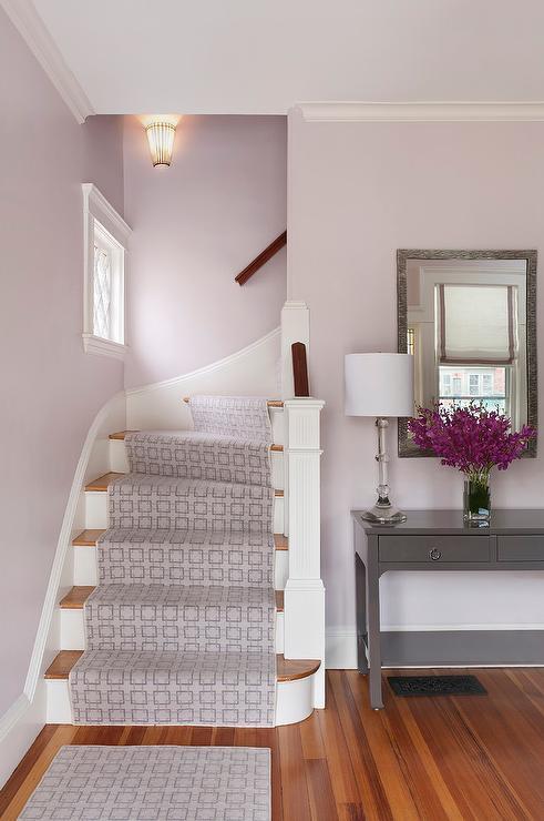 Lavender foyer design   transitional   entrance/foyer   benjamin ...