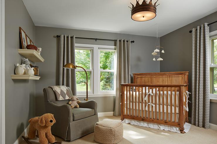 Caddy Corner Crib Transitional Nursery
