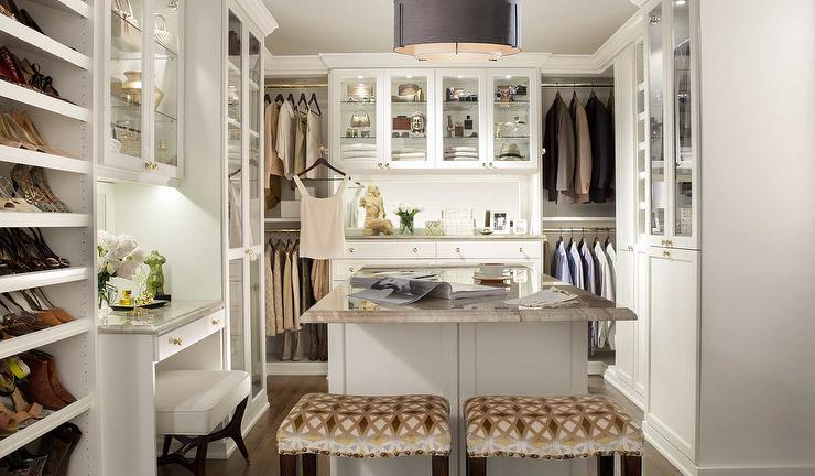 dream closet ideas transitional closet. Black Bedroom Furniture Sets. Home Design Ideas