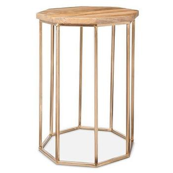 Threshold Caged Accent Table
