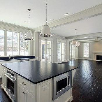 Kitchen Island with Oven, Transitional, Kitchen