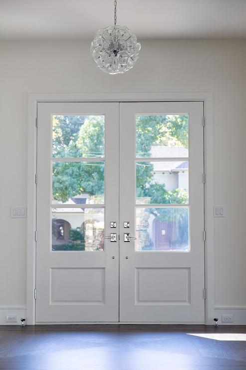 Glass Foyer Doors : Blossom inch w crystal pendant chandelier