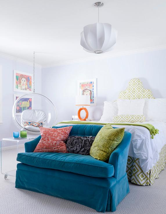 Teen girls room design ideas for Blue and green girls bedroom ideas