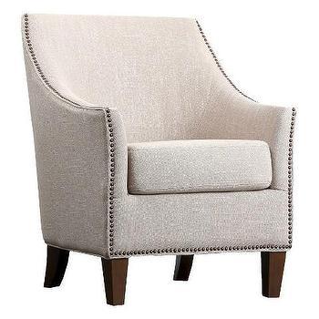 Abbyson Living Reese Nailhead Trim Armchair
