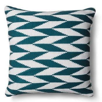 Knit Geo Pillow