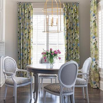 Faux Bois Chairs, Transitional, Dining Room