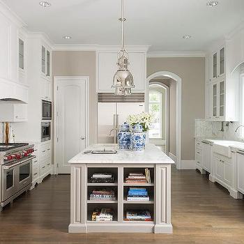 Kitchen Island Shelves, Transitional, Kitchen