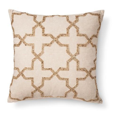 from htm throw decor pillow stripes p gold monroe velvet