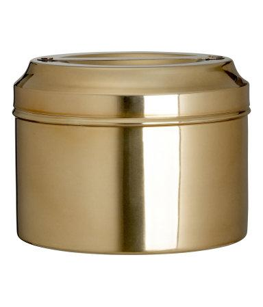 Round Metal Gold Decorative Box With Lid Fascinating Decorative Metal Boxes With Lids