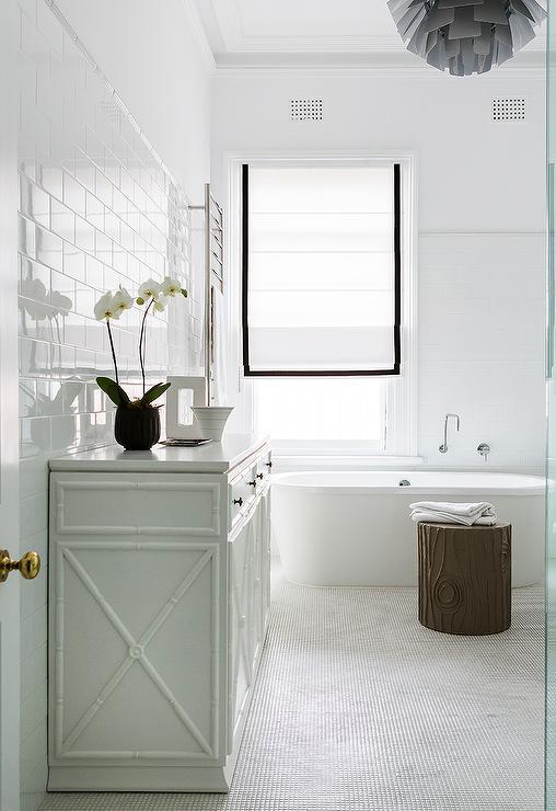 faux bamboo bathroom cabinet design ideas, Home design