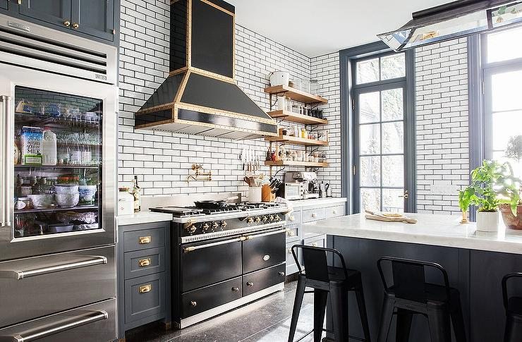 Black And Gold French Stove