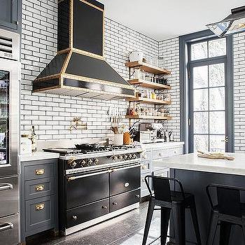 Kitchen design decor photos pictures ideas - Black and gold kitchen ...