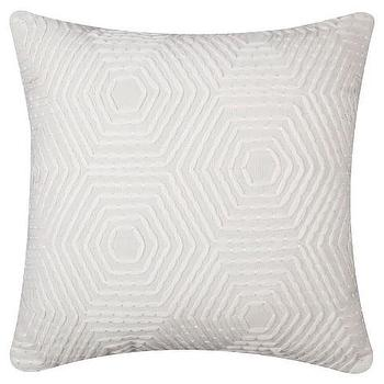 Nate Berkus Heavy Embroidered Pillow