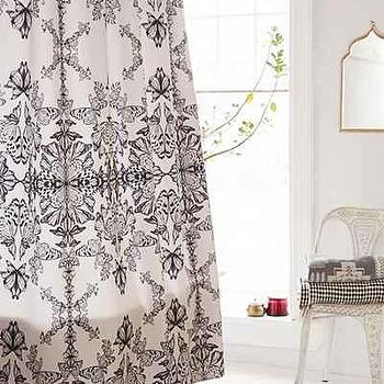 Pattern State For DENY Butterfly Paper Shower Curtain