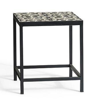 Square Tile Side Table