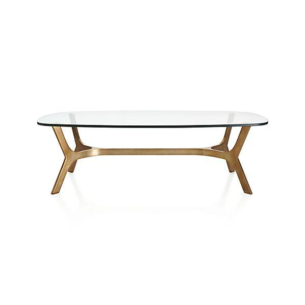 Elke Gold Coffee Table