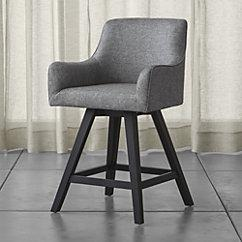 & Harvey Gray Swivel Bar Stool islam-shia.org