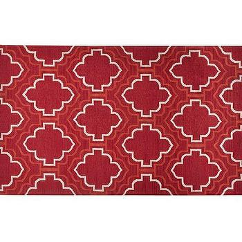 Borden Tile Recycled Yarn Indoor or Outdoor Rug
