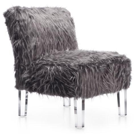 Grey Sechura Slipper Chair