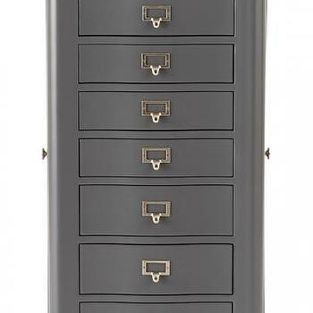 Gabrielle Brown Jewelry Armoire