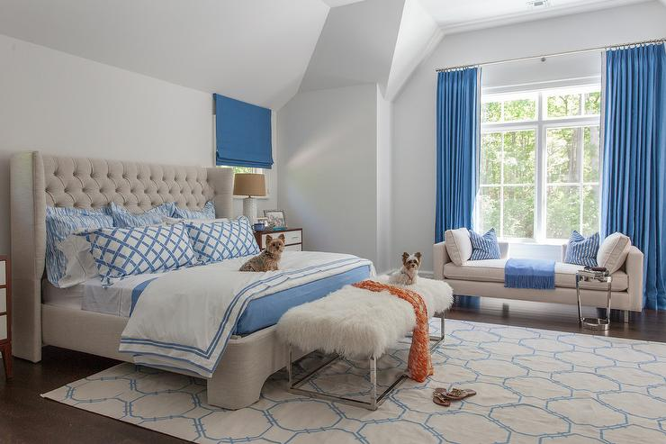 Alongside Blue And Tan And Blue Beige And Blue Bedroom Bedrooms