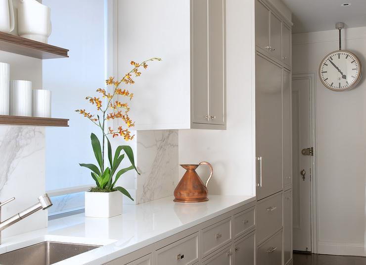 Marble Kitchen Sink Backsplash