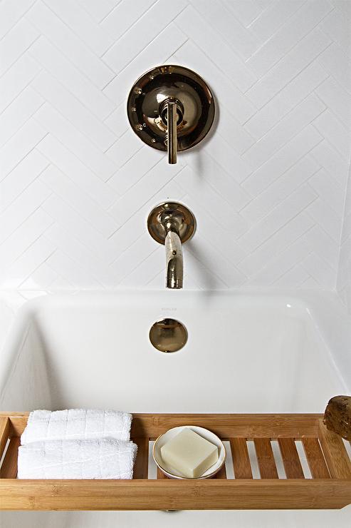 Kohler Purist Rite Temp Vibrant French Gold Shower Kit - Modern ...
