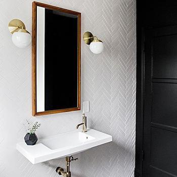 Black Bathroom Door, Modern, Bathroom