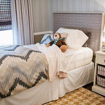 Kids Room with Houndstooth Rug, Transitional, Boy's Room