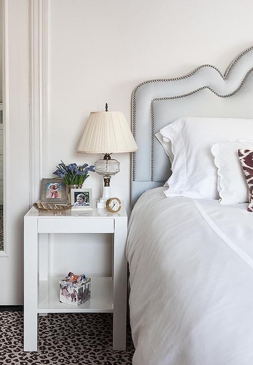 Bedroom With Leopard Rug