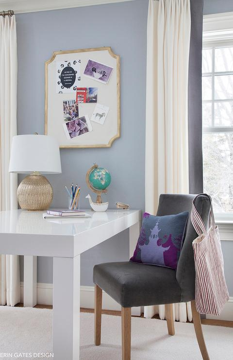 Homework Black and Purple Desk 480 x 740