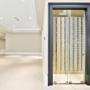 Wine cellar sliding doors design ideas for Basement sliding doors