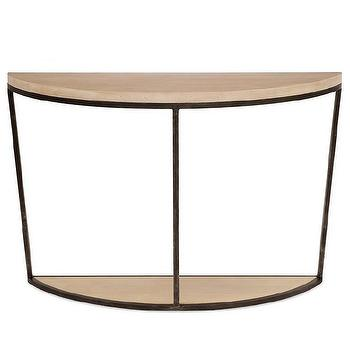 Redford House Blair Half Round Console Table