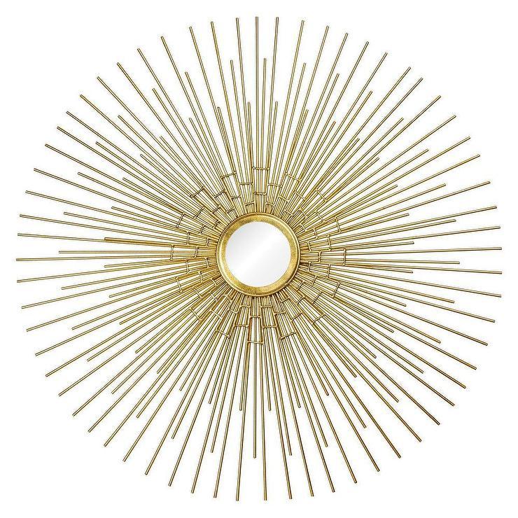 renwil phoenix iron gold mirror renwil phoenix iron gold mirror