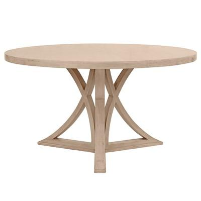 Redford House Floyd Natural Round Dining Table