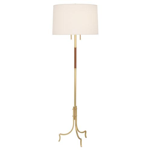 Britain floor lamp jayson home for Clare brass floor lamp