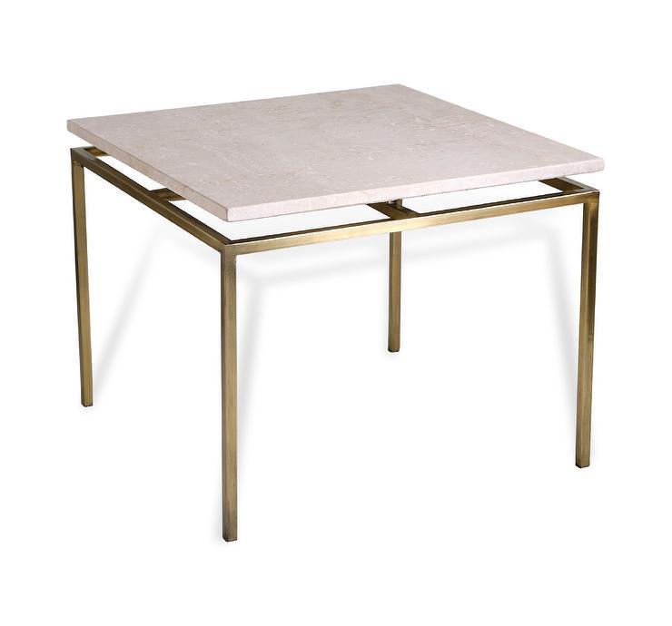 glam white marble top gold side table. Black Bedroom Furniture Sets. Home Design Ideas