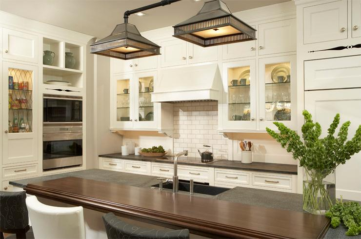 View full size lovely kitchen features the urban electric co cheltenham light