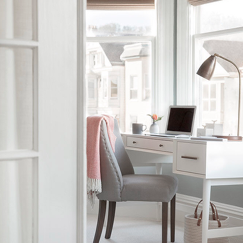 Bay Window Desk Design Ideas