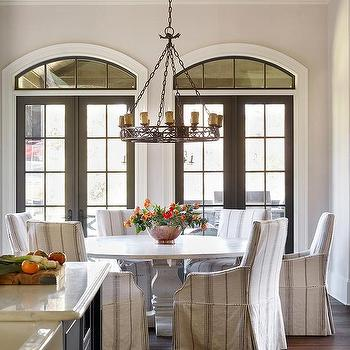 Round French Dining Table And Chairs Find this Pin and more on